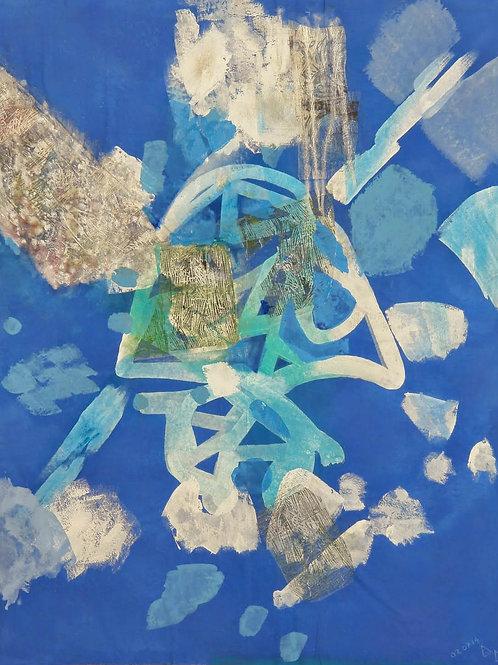 Akrylmaleri Nr. 1083, 1366 x 2048 cm