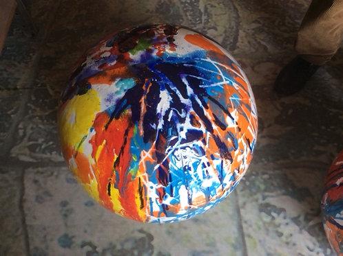 Keramik kunst Nr. 56: Keramik figur (sfære), diameter 50cm