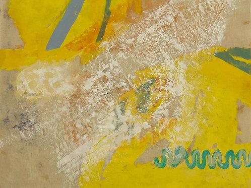 Oliemaleri Nr. 1010, 105 X 136 cm