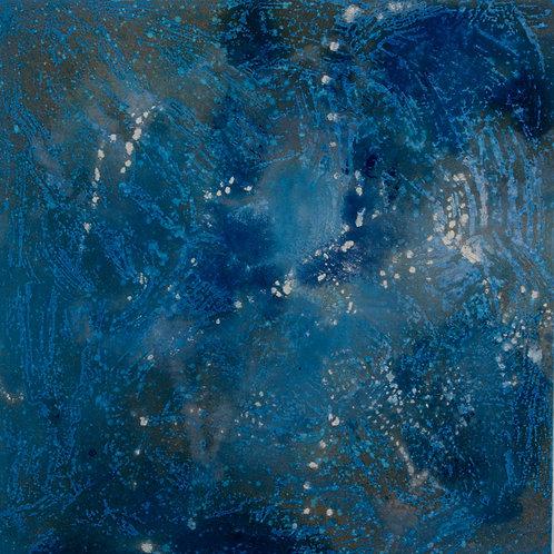 Oliemaleri Nr. IA009, 100x100 cm