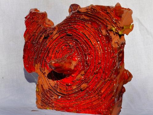 Keramik kunst Nr. 25:  Keramik Figur, 16 x 18 cm