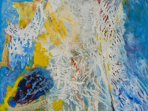 Oliemaleri Nr. 1096, 135 x 160 cm