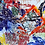 Thumbnail: Keramik kunst Nr. 54: Keramik Panel, cm 195x325