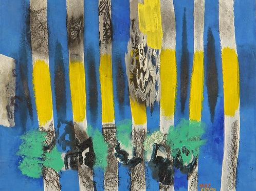 Oliemaleri Nr. 1042, 137 X 167 cm