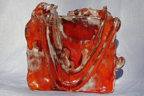 Keramik kunst Nr. 22:  Keramik Figur, 16 x 18 cm