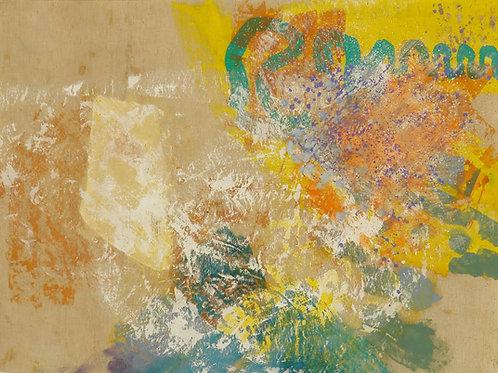 Oliemaleri Nr. 1006, 107 X 138 cm.