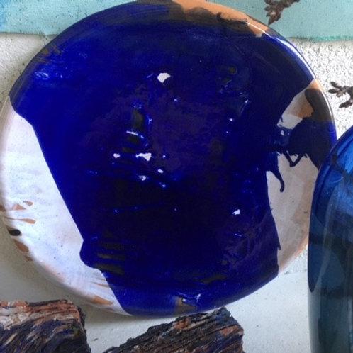 Keramik kunst Nr. 32, Keramik fad, Ø 50