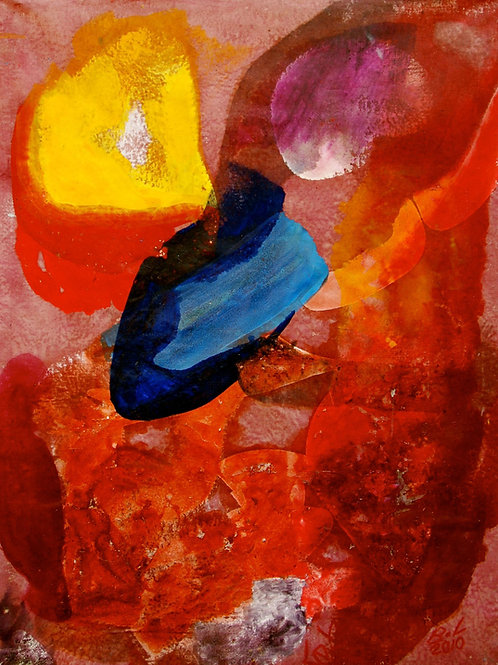 Oliemaleri Nr. 1085, 175 x 135 cm