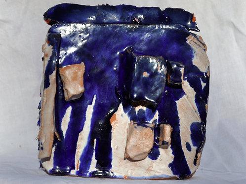 Keramik kunst Nr. 24:  Keramik Figur, 16 x 18 cm