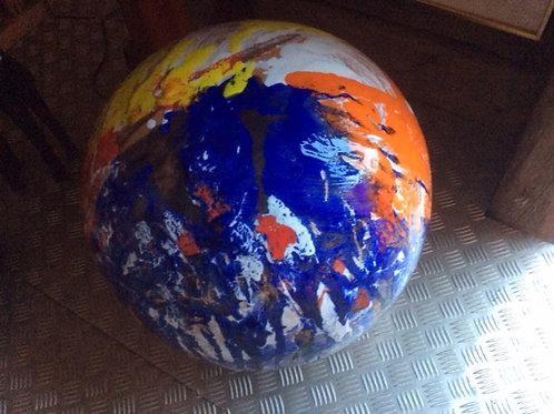 Keramik kunst Nr. 36: Keramik figur (sfære), Ø40