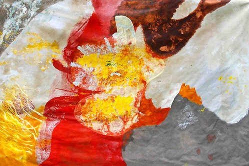 Oliemaleri Nr. 1108, 332 x 215 cm