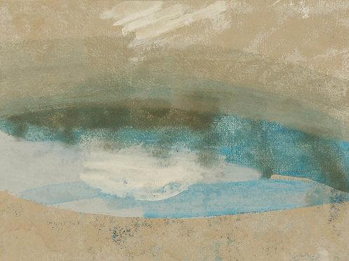 Oliemaleri Nr. 1009, 104 X 140 cm