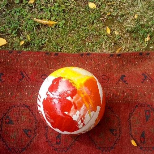 Keramik kunst Nr. 29: Keramik figur (sfære), Ø30