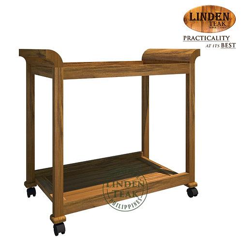 Handcrafted Solid Teak Wood TrolleyFurniture