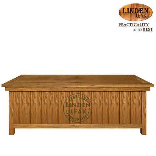 Handcrafted Solid Teak Wood GT Cushion Box Furniture