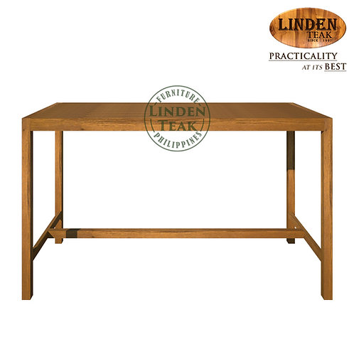 Handcrafted Solid Teak Wood Garden Bar Table Furniture
