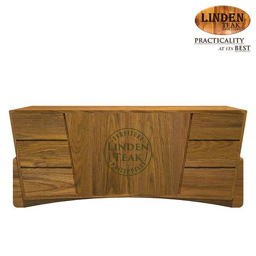 Handcrafted Solid Teak Wood AngleBuffet Organizer TableFurniture