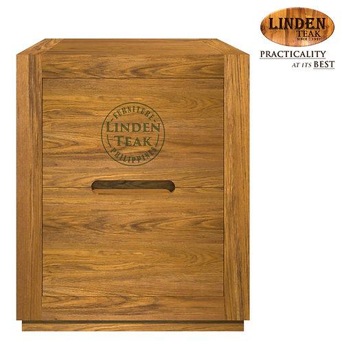 Handcrafted Solid Teak Wood Idea Two Drawer w/o Tray NiteTableFurniture