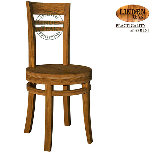 Handcrafted Solid Teak Wood Chantik Dining Chair Furniture