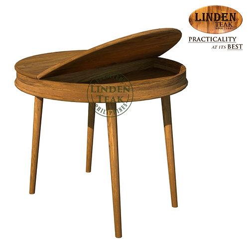 Handcrafted Solid Teak Wood Vanity Dining Table Furniture