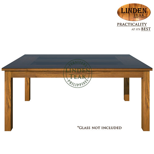 Handcrafted Solid Teak Wood Sand-180 Dining Table Furniture