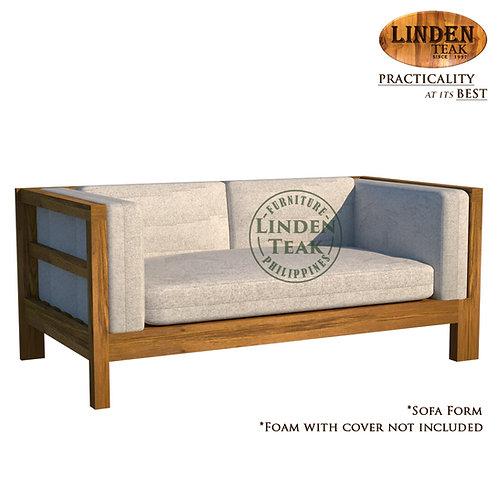 Handcrafted Solid Teak Wood Side Pull Sofa BedFrame Furniture