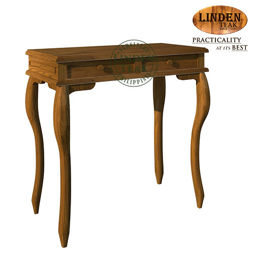 Handcrafted Solid Teak Wood Small Gareng Classic Console Table Furniture