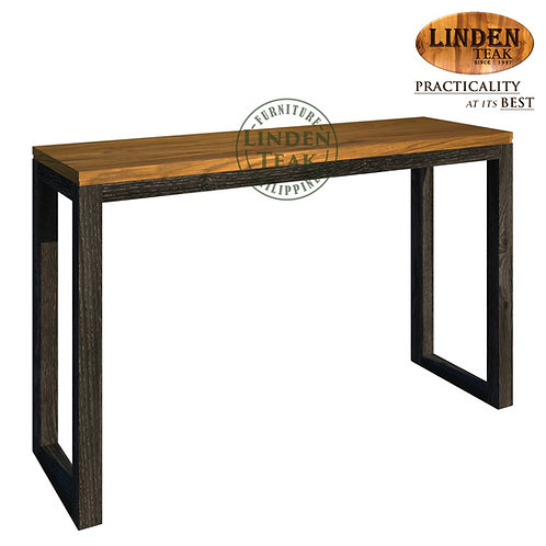 Handcrafted Solid Teak Wood Modified Hotel Console Table Furniture