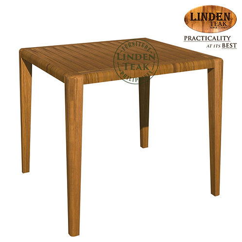Handcrafted Solid Teak Wood Bench 90 x 90 x 75 cm Dining Table Furniture
