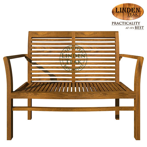 Handcrafted Solid Teak Wood GT Stacking Sofa 2 Seater