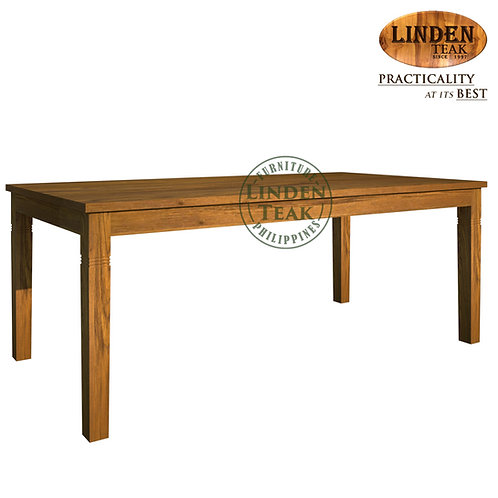 Handcrafted Solid Teak Wood Fixblock- 216Dining Table Furniture