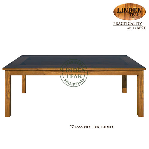 Handcrafted Solid Teak Wood Sand-220 Dining Table Furniture