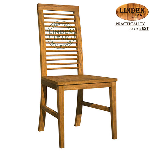 Handcrafted Solid Teak Wood 054 Dining Chair Furniture