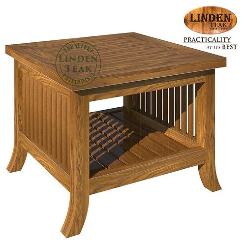 Handcrafted Solid Teak Wood 092 Side Table Furniture