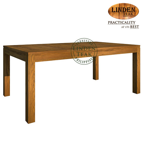 Handcrafted Solid Teak Wood Ohara-190 Dining Table Furniture