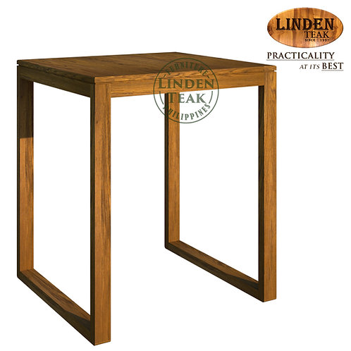 Handcrafted Solid Teak Wood Hotel Dining Table Furniture