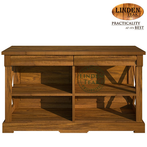 Handcrafted Solid Teak Wood 7000 TV Cabinet Furniture