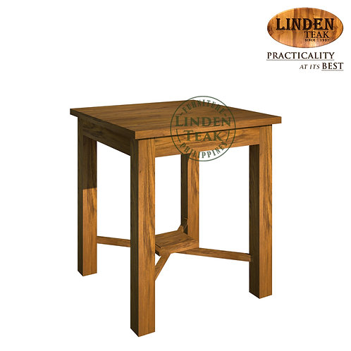 Handcrafted Solid Teak Wood GT Stacking Side Table Furniture