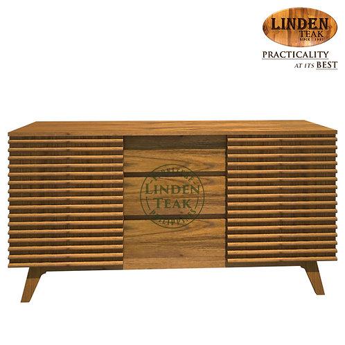 Handcrafted Solid Teak Wood ChannelBuffet Organizer TableFurniture