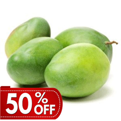 Organic Unripe Mango (Small -Medium) per Kilo
