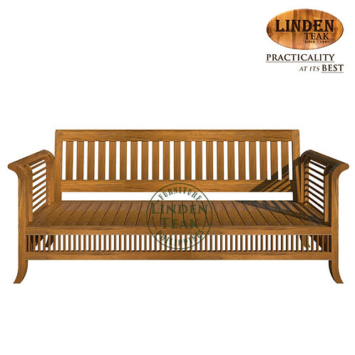 Handcrafted Solid Teak Wood 092 3 Seater Sofa Furniture