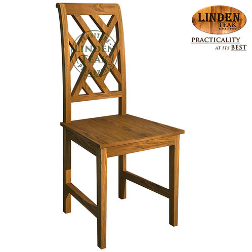 Handcrafted Solid Teak Wood Jillie Dining Chair