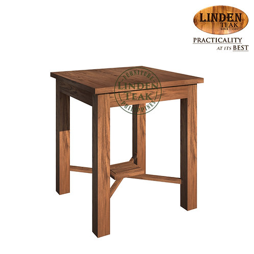 Handcrafted Solid Teak Wood ECO Stacking Side Table Furniture