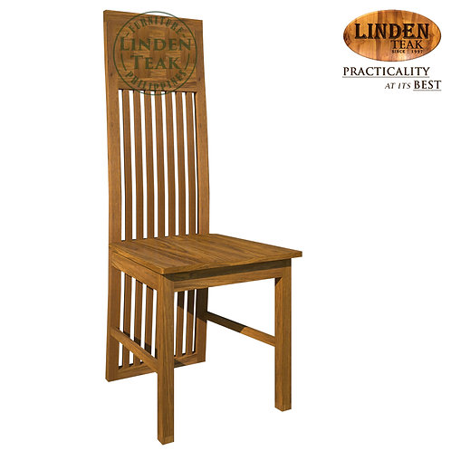 Handcrafted Solid Teak Wood 083 Dining Chair