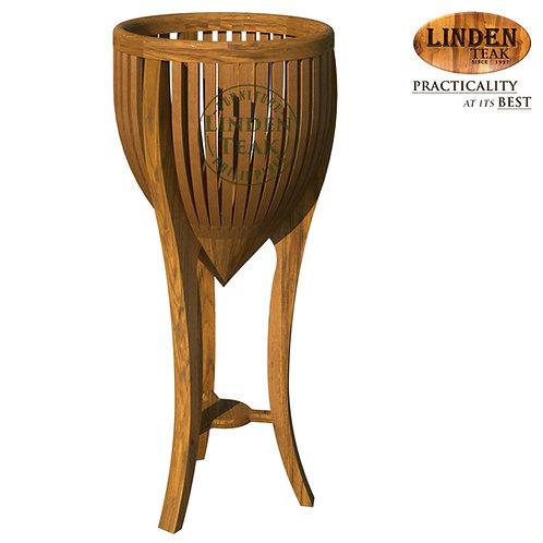 Handcrafted Solid Teak Wood Plant Stand Medium Furniture
