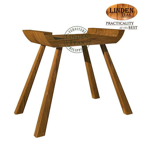 Handcrafted Solid Teak Wood MINI PancingTable Furniture