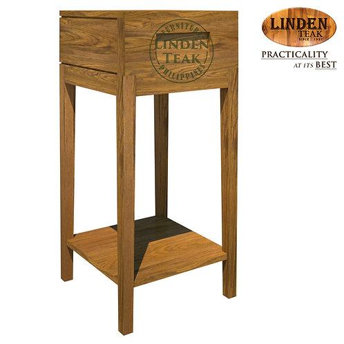 Handcrafted Solid Teak Wood Line-37 Nite Table Furniture