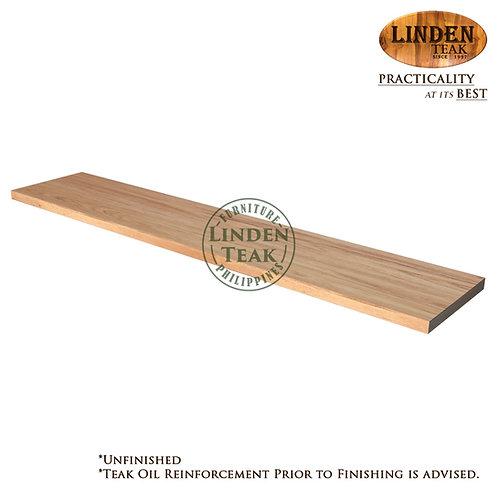Solid Teak Wood Small Teak Plank 50 x 10 x 1cm