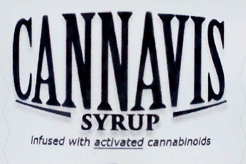 Cannavis Syrup 200mg - Grape