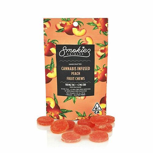 Peach Gummiez, 100 mg - CA